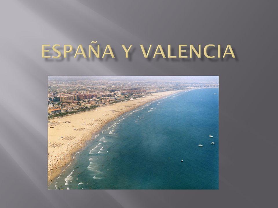 España se encuentra en el sur-oeste de Europa.