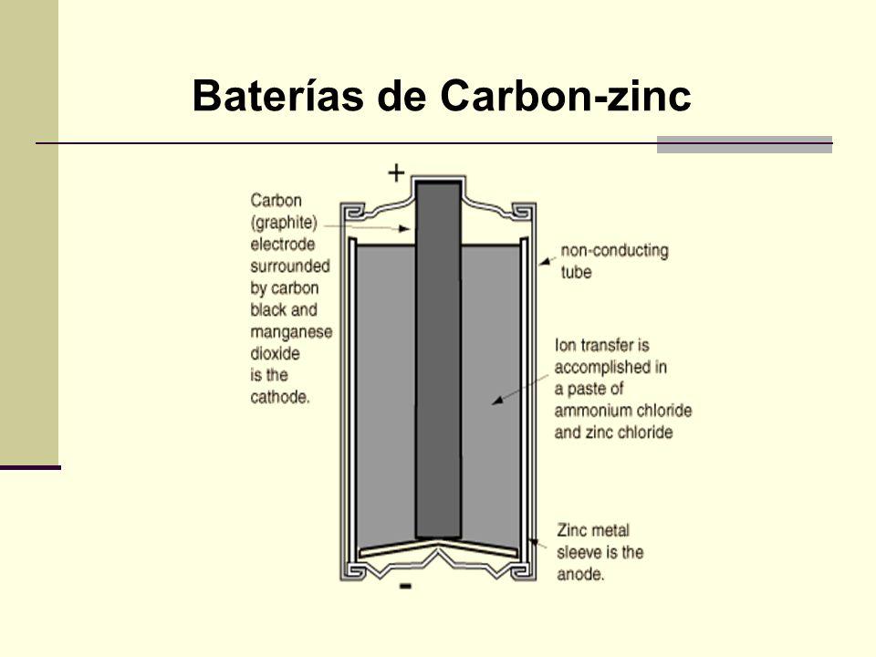 Batería con resistencia interna Una batería está construída con una resistencia interna considerable y si falla es por que no alcanza a suministrar la energía suficiente para la demanda externa.