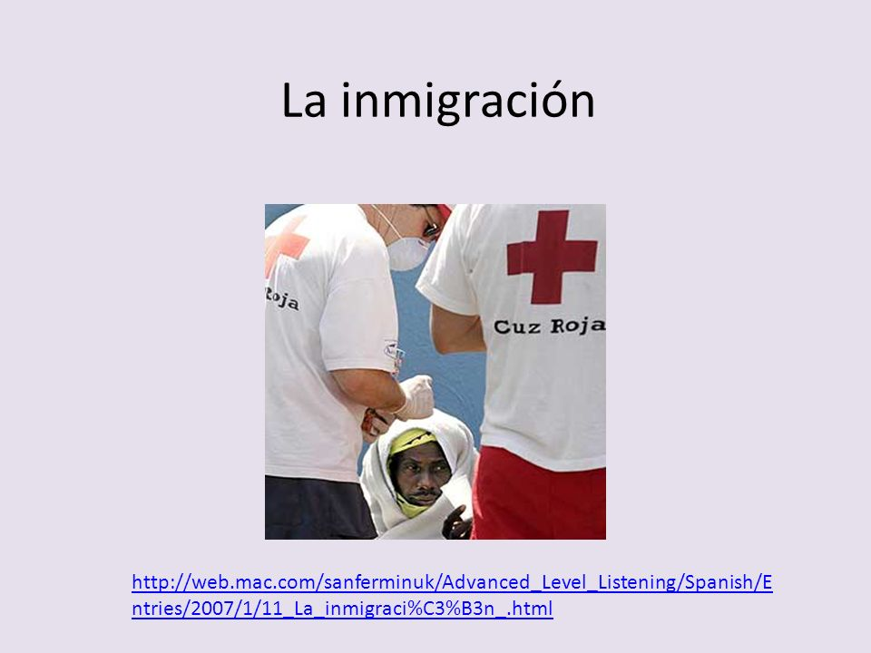 En la actualidad España es un receptor de emigrantes.