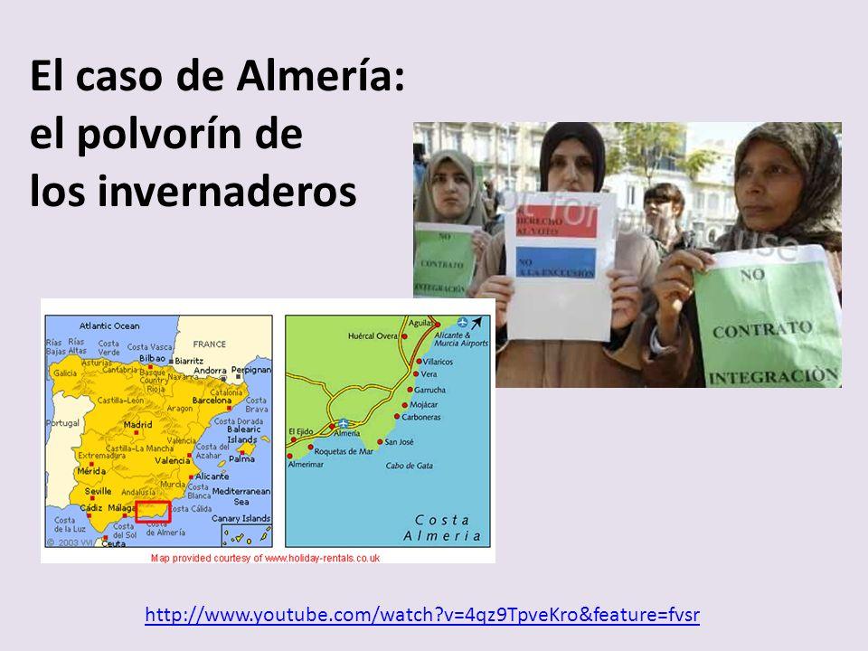 http://www.youtube.com/watch v=4qz9TpveKro&feature=fvsr El caso de Almería: el polvorín de los invernaderos