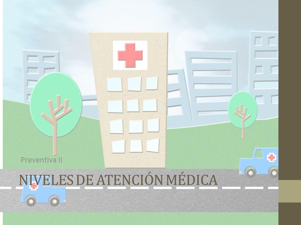 NIVELES DE ATENCIÓN MÉDICA Preventiva II