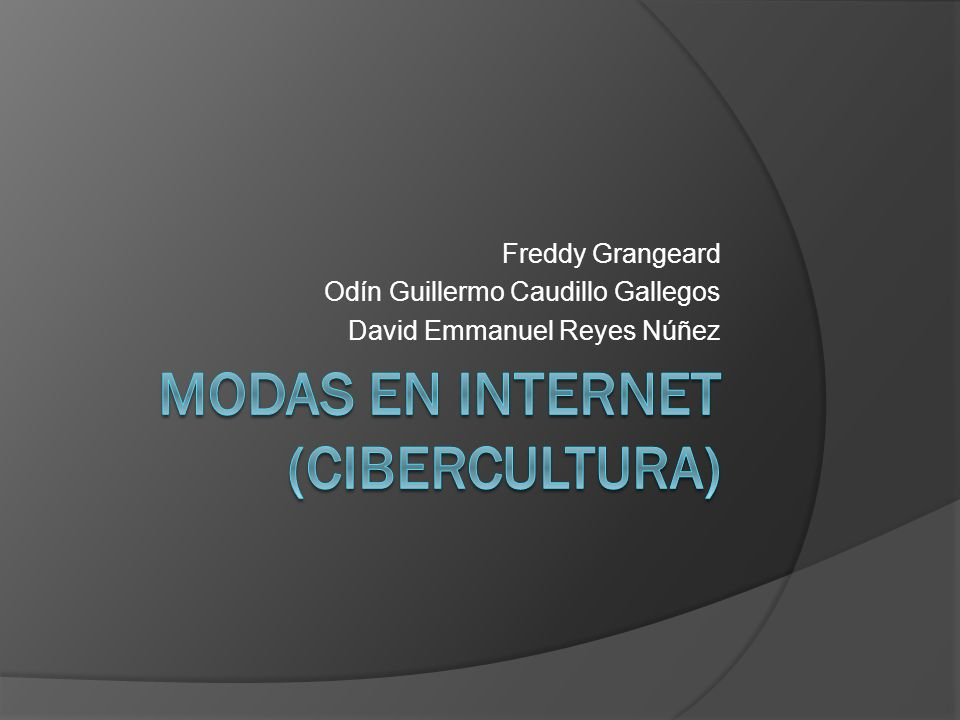 Freddy Grangeard Odín Guillermo Caudillo Gallegos David Emmanuel Reyes Núñez