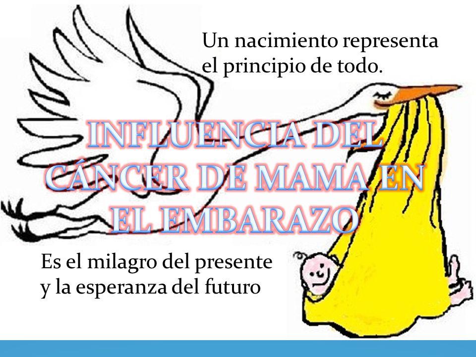 2.- El embarazo como factor de riesgo Las mujeres embarazadas no presentan mayor susceptibilidad que las no embarazadas para padecer un Cáncer.
