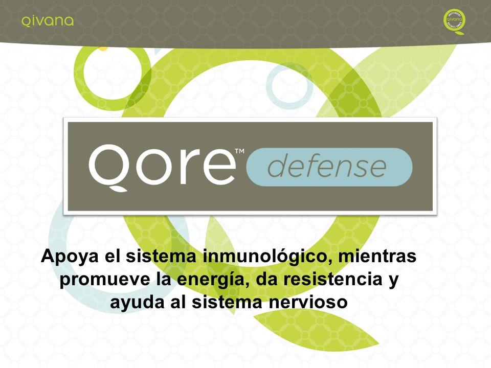 Apoya el sistema inmunológico, mientras promueve la energía, da resistencia y ayuda al sistema nervioso