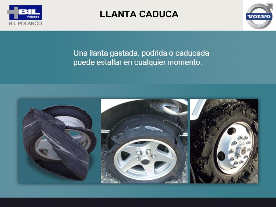 ¿Sabías que los neumáticos caducan 4 años después de la fecha de fabricación y esta fecha se encuentra estampada en un lado del neumático.