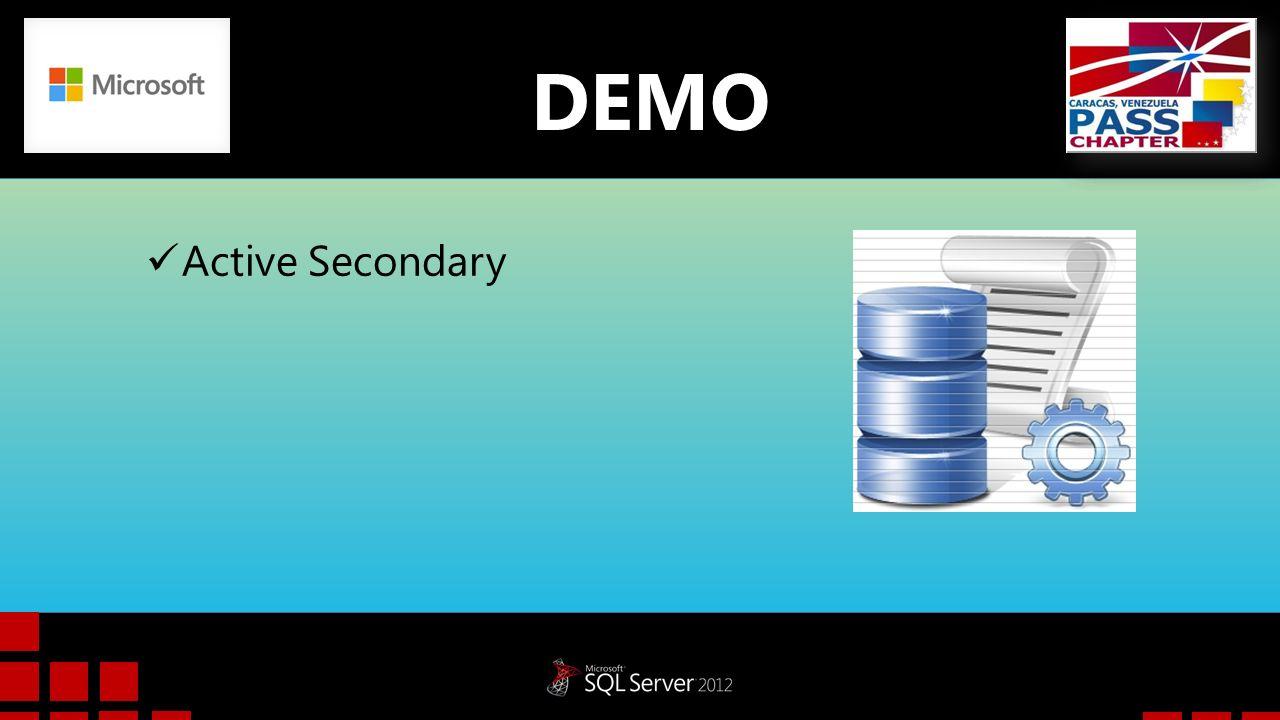 DEMO Active Secondary