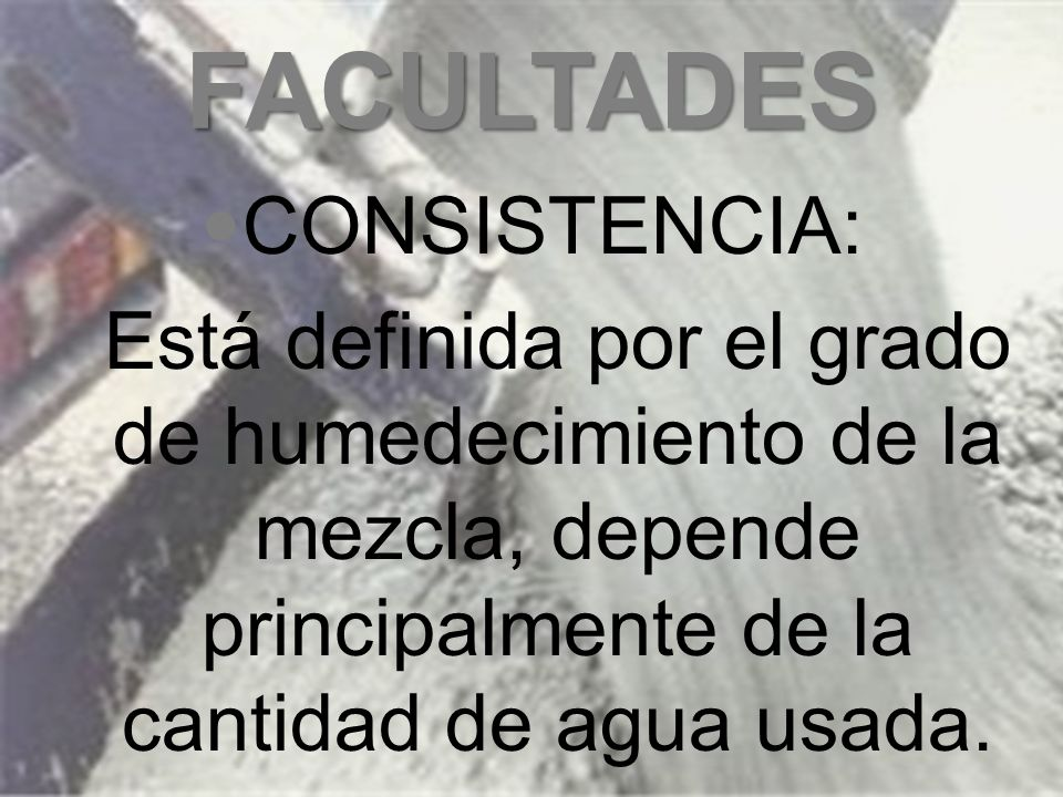 FACULTADES RESISTENCIA: f