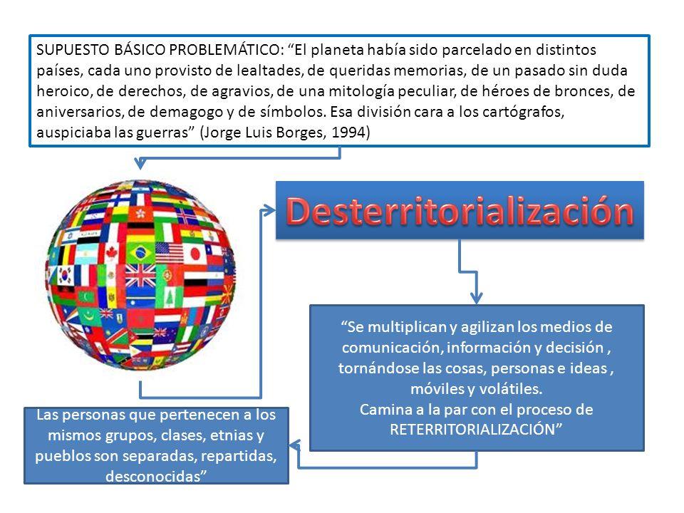 ESPACIO Cuando la sociedad nacional queda transformada en una provincia de la sociedad global, de inmediato se vuelven necesarias otras definiciones d