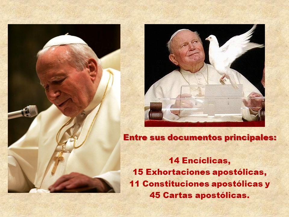 Sobre su Escudo Pontificio Otro signo de su amor filial a Santa María es su escudo pontificio: sobre un fondo azul, una cruz amarilla, y bajo el mader