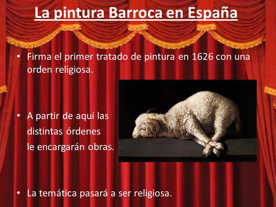 La pintura Barroca en España Obras más importantes de Zurbarán: – Inmaculada – Santa Apollonia – La Bendicion del Salvador Su reconocimiento creció tras su muerte.