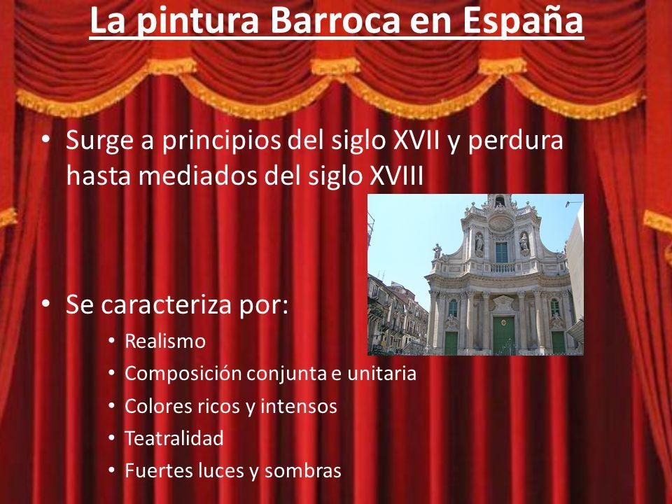 La pintura Barroca en España Autores destacados: – Caravaggio en Italia – Rembandt en Holanda La vocación de San Mateo La ronda de noche