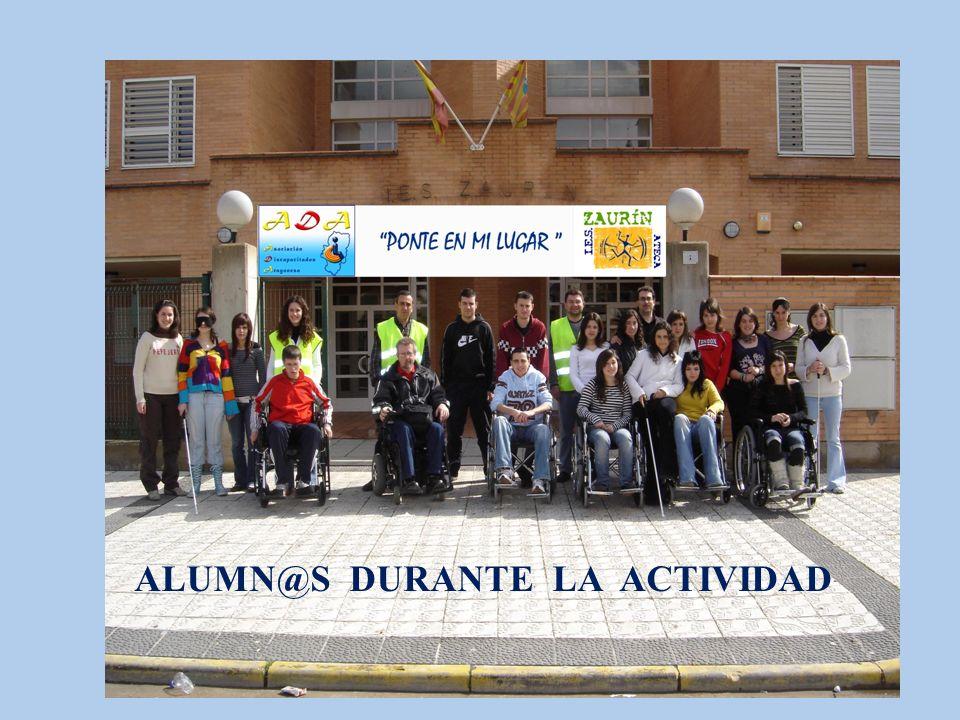 ALUMN@S DURANTE LA ACTIVIDAD