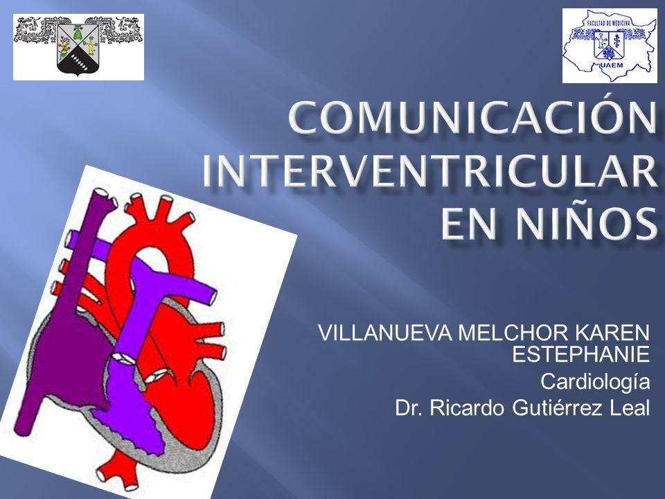 VILLANUEVA MELCHOR KAREN ESTEPHANIE Cardiología Dr. Ricardo Gutiérrez Leal