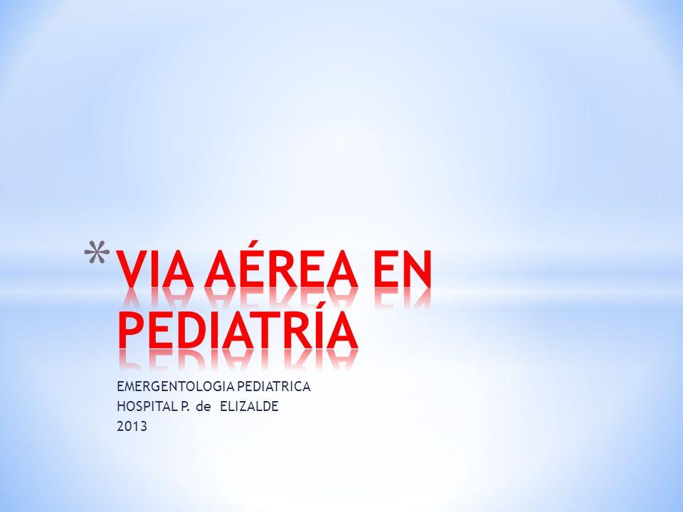 EMERGENTOLOGIA PEDIATRICA HOSPITAL P. de ELIZALDE 2013