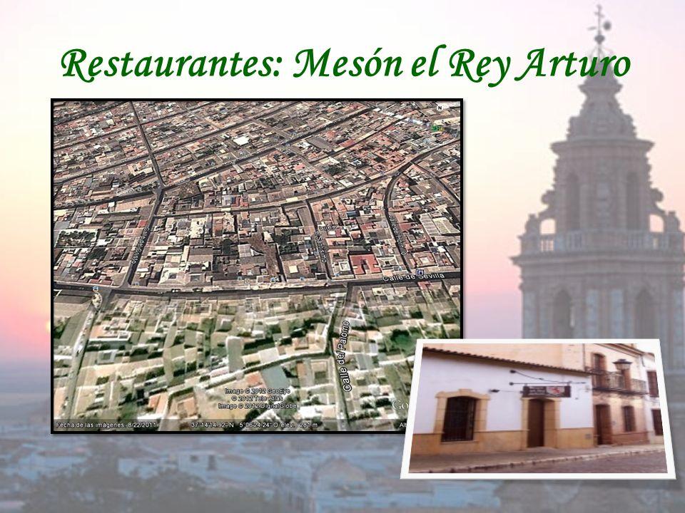 Restaurantes: Mesón el Rey Arturo