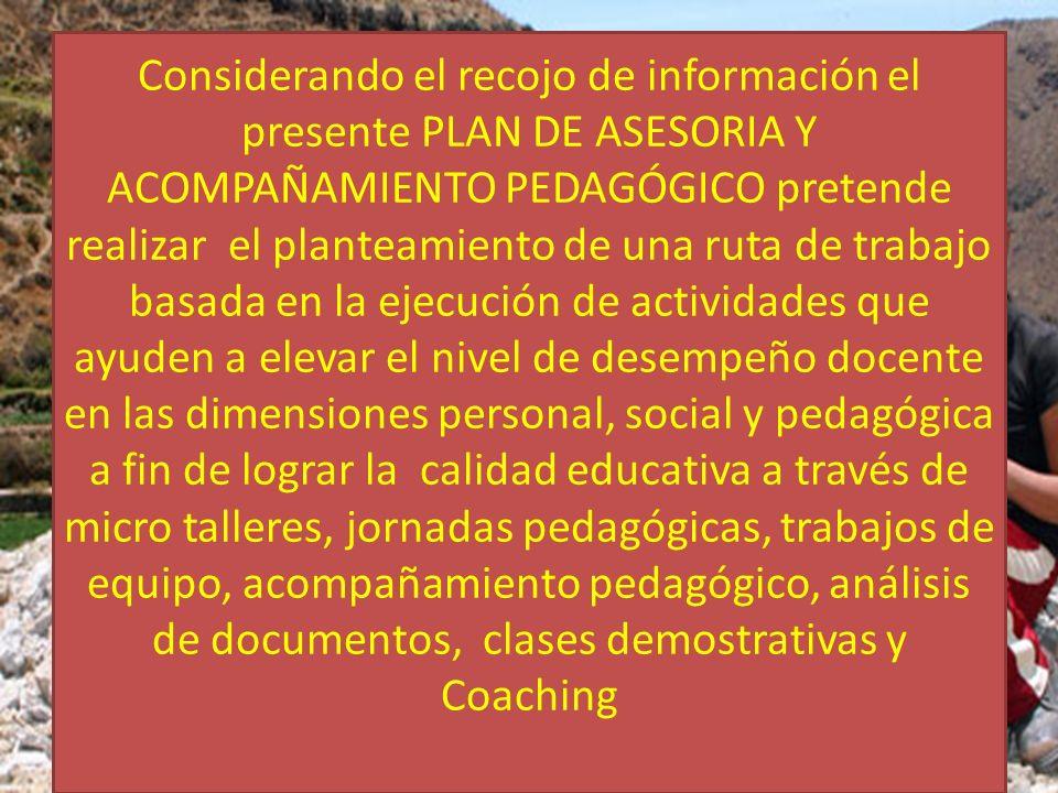 II.-DESCRIPCION DE LA PROBLEMÁTICA DIMENSIÓNCATEGORIAPROBLEMAPORCENTAJES PEDAGÓGICA 1.1.Programación Curricular.