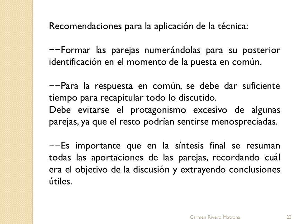 Carmen Rivero.Matrona24 3. Estudio de casos.