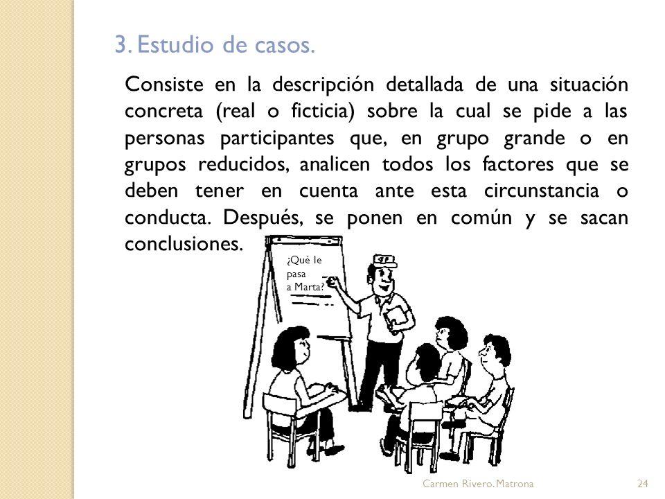 Carmen Rivero.Matrona25 Objetivos: Identificar y analizar problemas específicos.