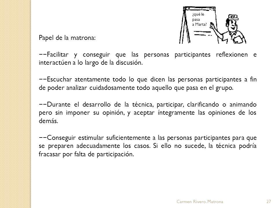 Carmen Rivero.Matrona28 4.