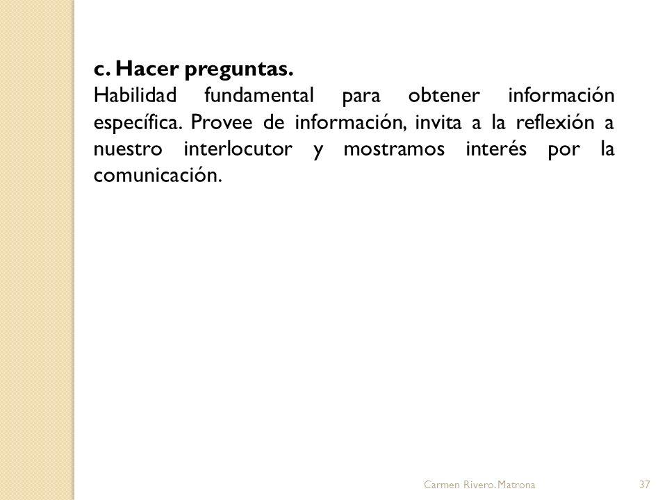 Carmen Rivero.Matrona38 d.