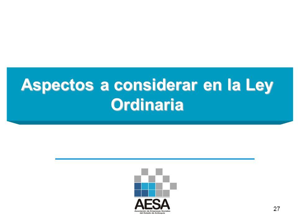 ¡GRACIAS! info@aesa.org.co www.aesa.org.co @DIRECTORAESA 26