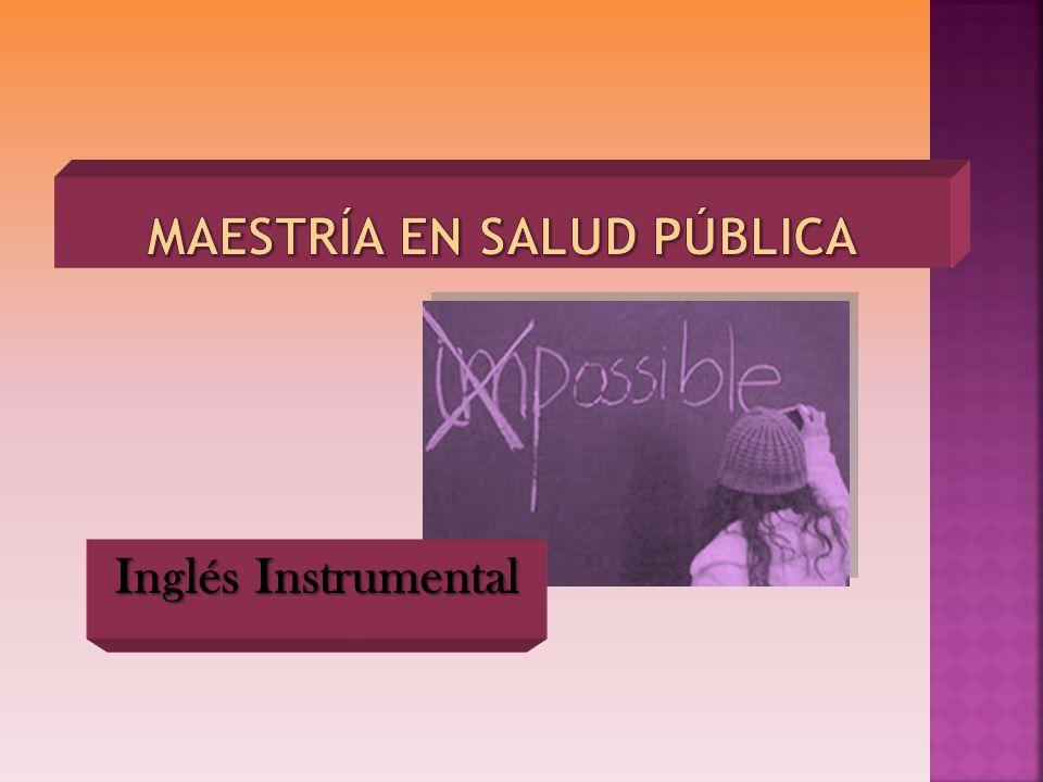 Inglés Instrumental