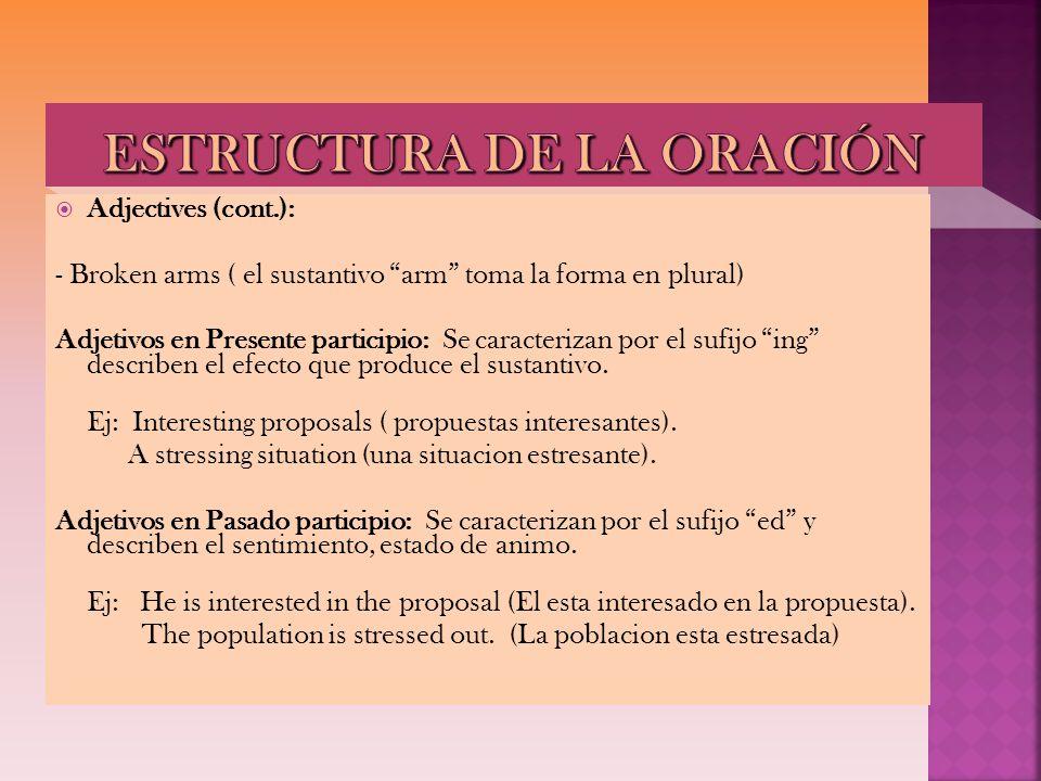 Affirmative sentences (+) Recuerden que en este tiempo, el verbo se conjuga en tercera persona Ejemplo: (he/she/It) 1.