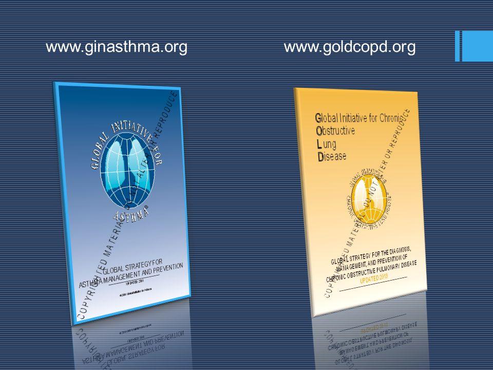 AB DC G O L D 1 2 34 Exacerbaciones0 1 2 mMRC o Puntaje CAT mMRC 0 – 1 CAT < 10 mMRC 2 CAT 10 RiesgoRiesgoRiesgoRiesgo RiesgoRiesgoRiesgoRiesgoSíntomas No Fumar No Fumar Actividad Física Actividad Física Vacunación (1/2) Vacunación (1/2) No Fumar No Fumar Actividad Física Actividad Física Vacunación (2) Vacunación (2) No Fumar No Fumar Actividad Física Actividad Física Vacunación (2) Vacunación (2) No Fumar No Fumar Actividad Física Actividad Física Vacunación (2) Vacunación (2) Rehabilitación Rehabilitación GOLD.