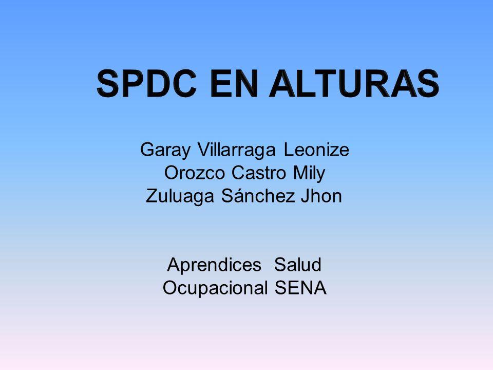 Garay Villarraga Leonize Orozco Castro Mily Zuluaga Sánchez Jhon Aprendices Salud Ocupacional SENA
