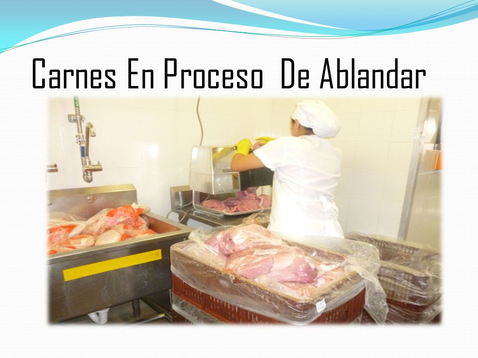 Carnes En Proceso De Ablandar