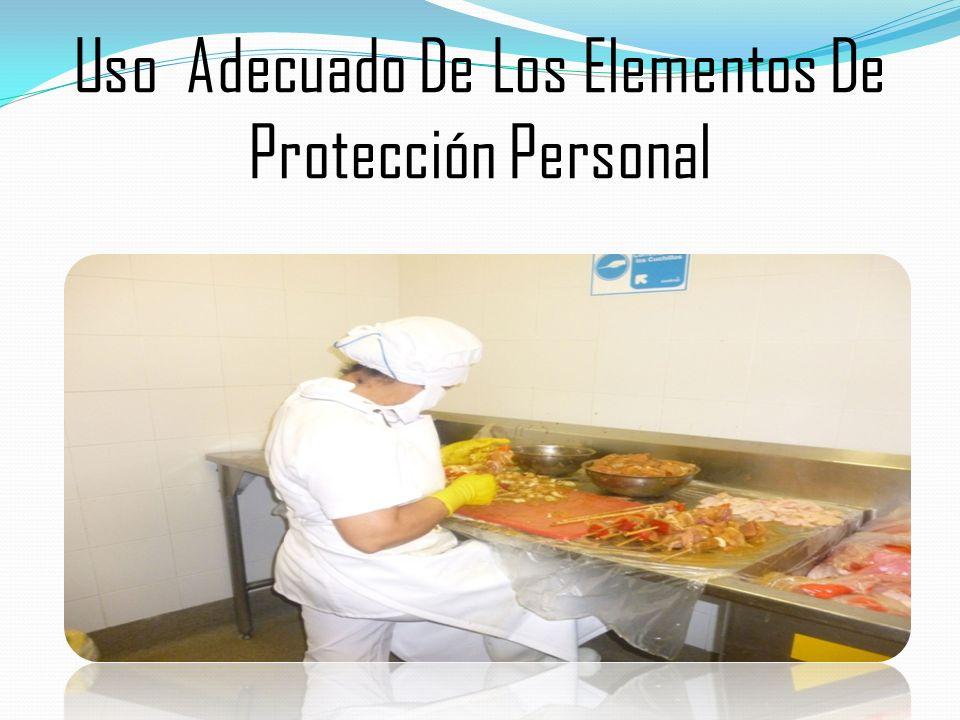 Uso Adecuado De Los Elementos De Protección Personal