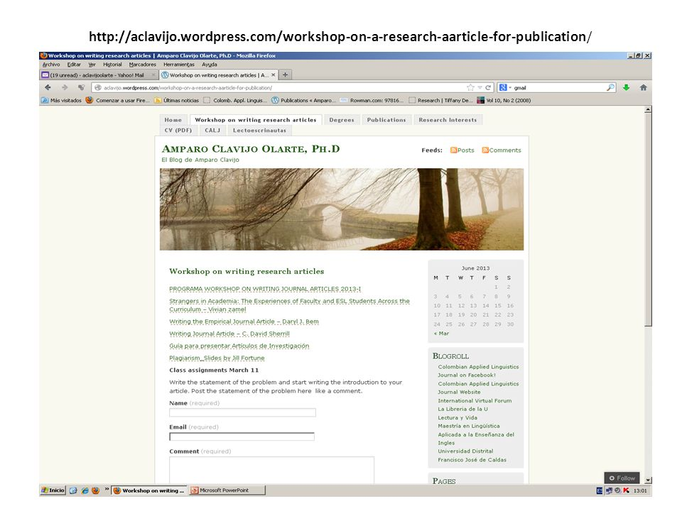 http://aclavijo.wordpress.com/workshop-on-a-research-aarticle-for-publication /