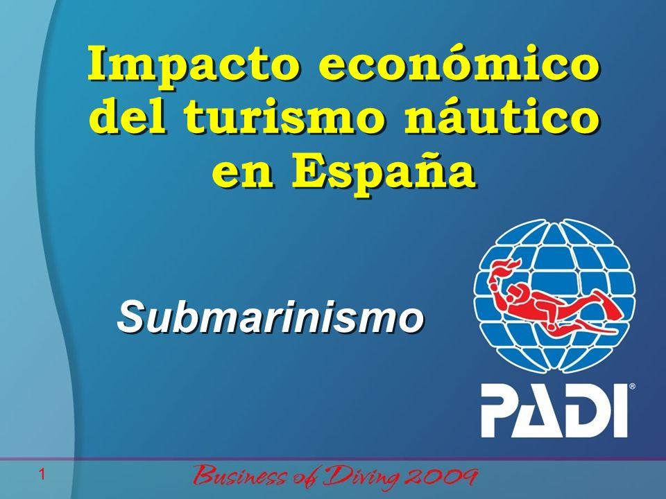 1 Impacto económico del turismo náutico en España Submarinismo
