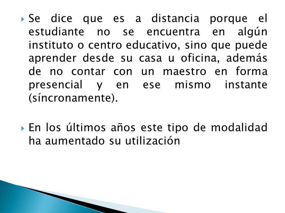 La Educación en línea, utiliza la red Internet con todas sus herramientas TIC como canal para realizar el proceso de enseñanza-aprendizaje. En ocasion