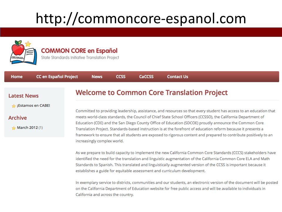 http://commoncore-espanol.com