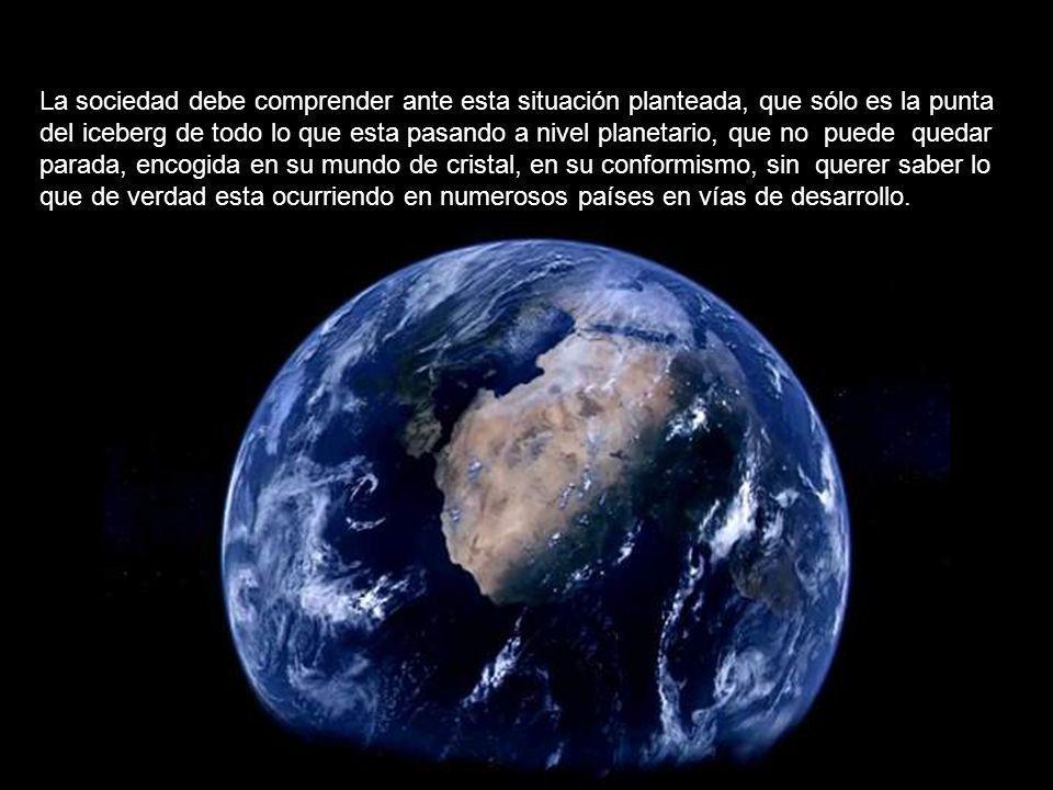 Si desapareciera el continente, la economía mundial no quedaría dañada para nada. Eso si, subiría el precio de los diamantes, oro, uranio, coltan y pe