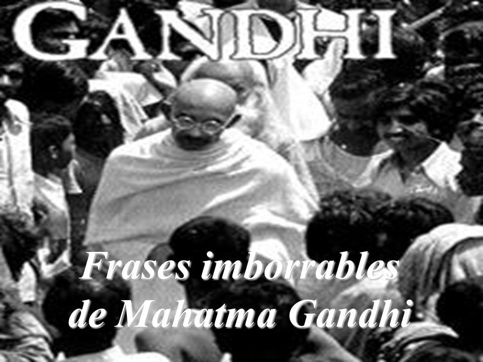 Mahatma Gandhi La resistencia del pobre