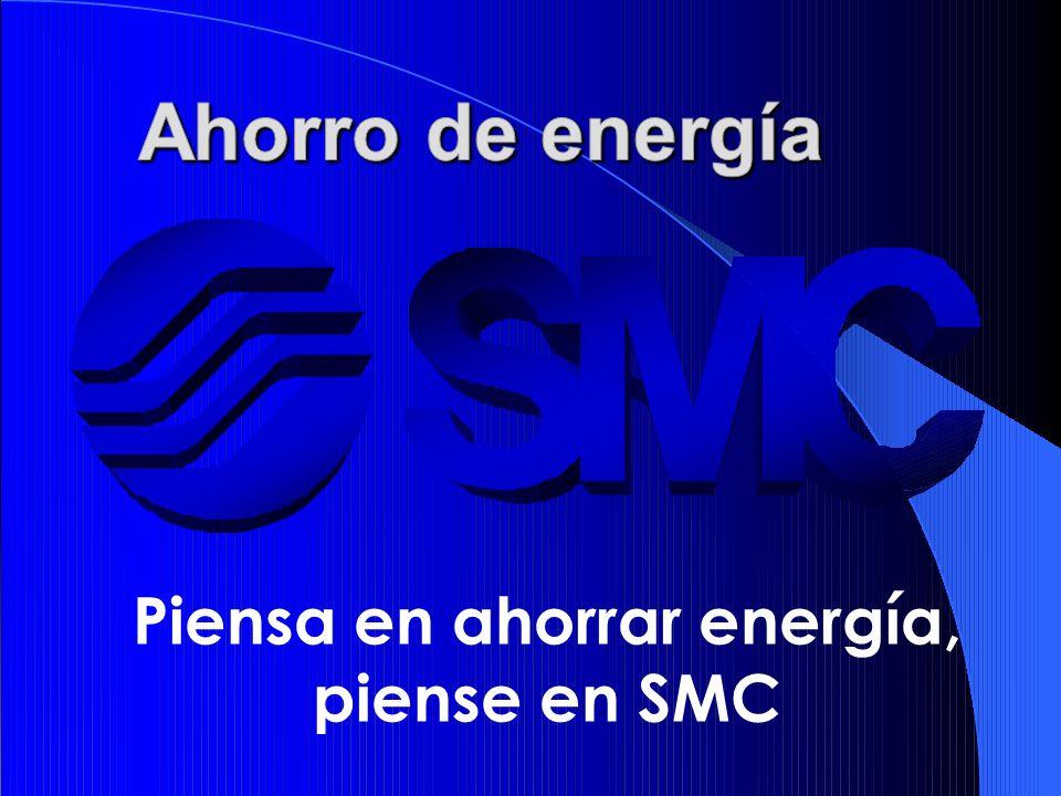 Piensa en ahorrar energía, piense en SMC