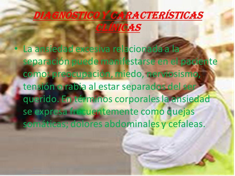 Los niños con TAS son descritos como inseguros, rabiosos y con una necesidad constante de atención.