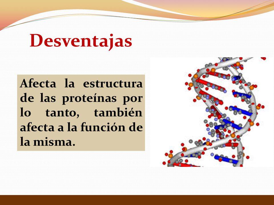 Ventajas Separación, visualización y cuantificación del numero de proteínas de una solución.
