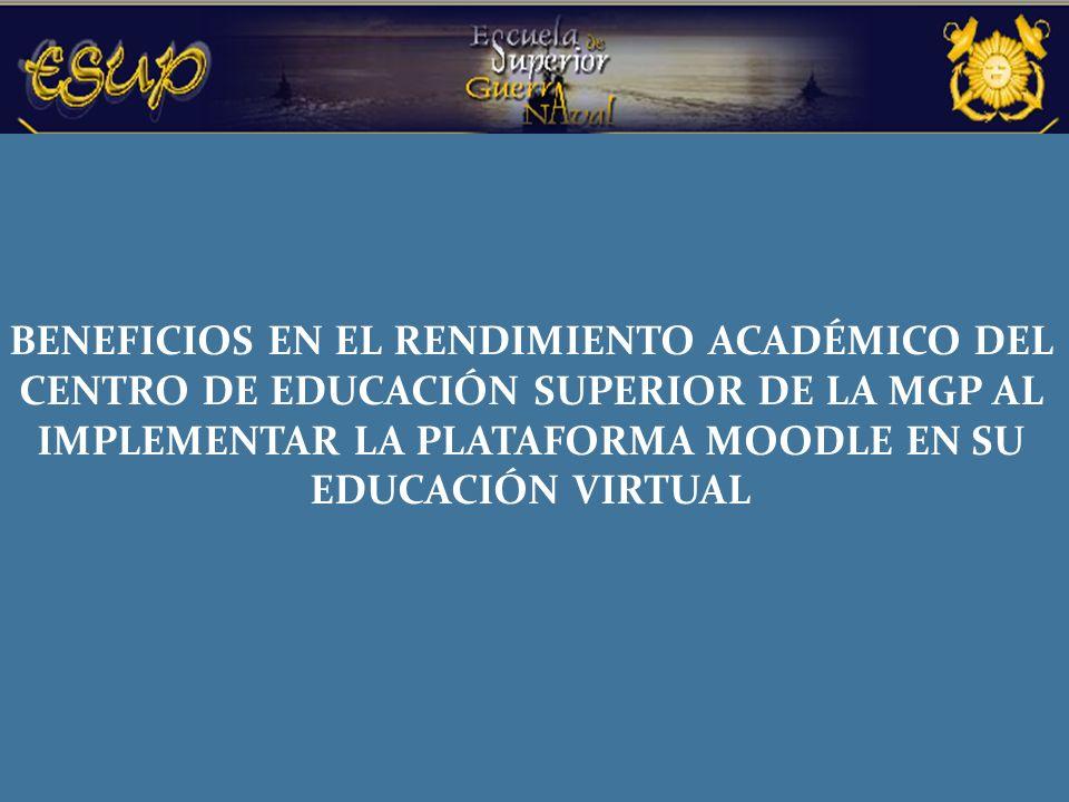 Carrera: Educación Área: Educación Superior en la MGP Asignatura: Educación a Distancia Tema: Utilización de la plataforma moodle