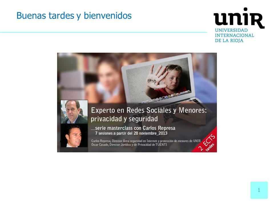 2 2 Seguridad y privacidad en la red 2 La protección de los menores en las redes sociales.