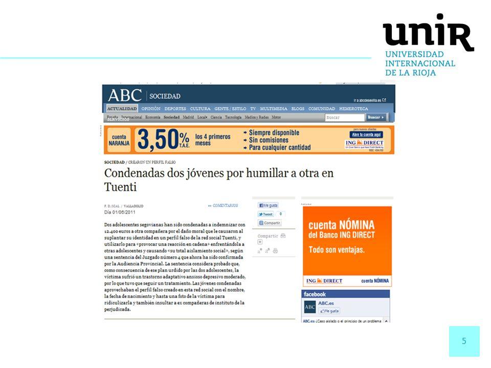 26 CASO PRÁCTICO www.streetpadel.es www.ibercaja.es www.agpd.es Web propia del centro educativo Blog docente.