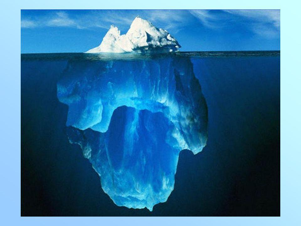 La densidad del hielo es 0,92 g/cm 3, la del agua líquida 1 g/cm 3, y la del alcohol 0,78 g/cm 3.