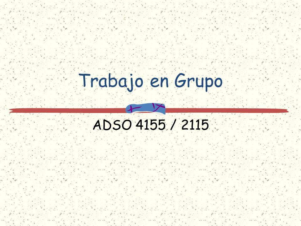Trabajo en Grupo ADSO 4155 / 2115