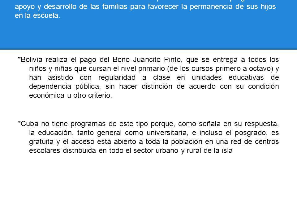 META ESPECÍFICA 2. Garantizar el acceso y la permanencia de todos los niños en el sistema educativo mediante la puesta en marcha de programas de apoyo