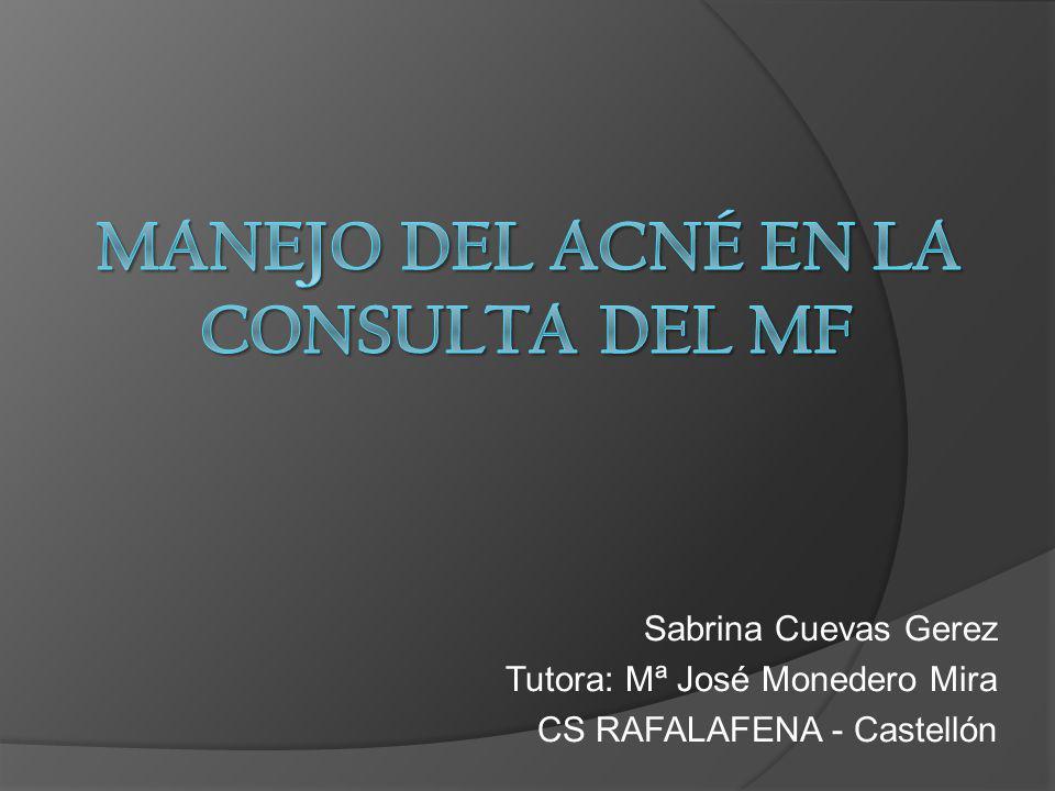Sabrina Cuevas Gerez Tutora: Mª José Monedero Mira CS RAFALAFENA - Castellón