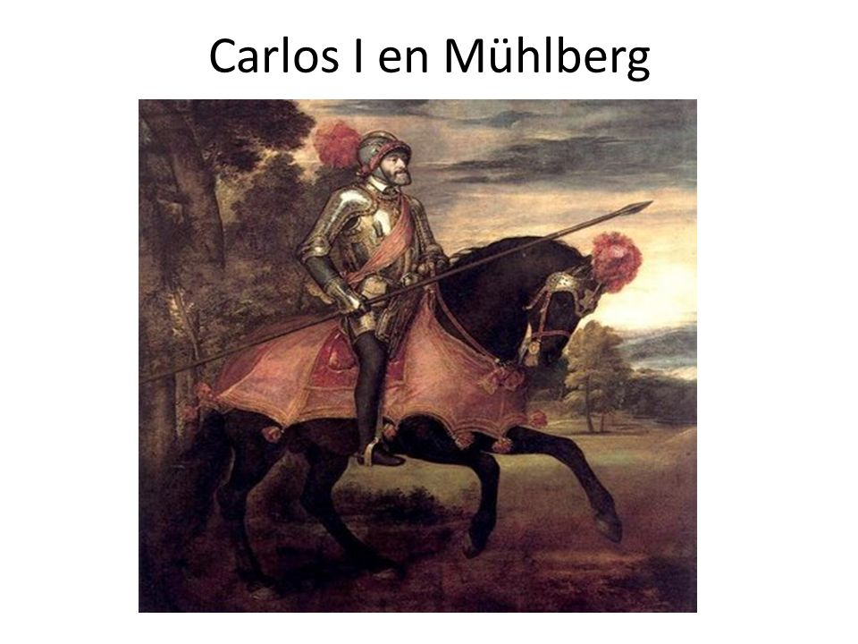 Carlos I en Mühlberg