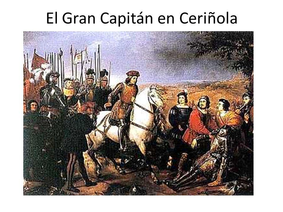 El Gran Capitán en Ceriñola