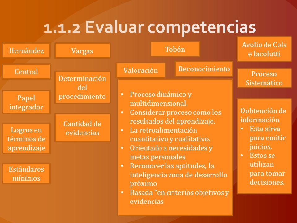 Avolio de Cols e Iacolutti Comprobación Evaluación diagnóstica Evaluación de procesos Evaluación de resultados Analizar y reflexionar.